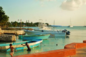 bayahibe in the evening