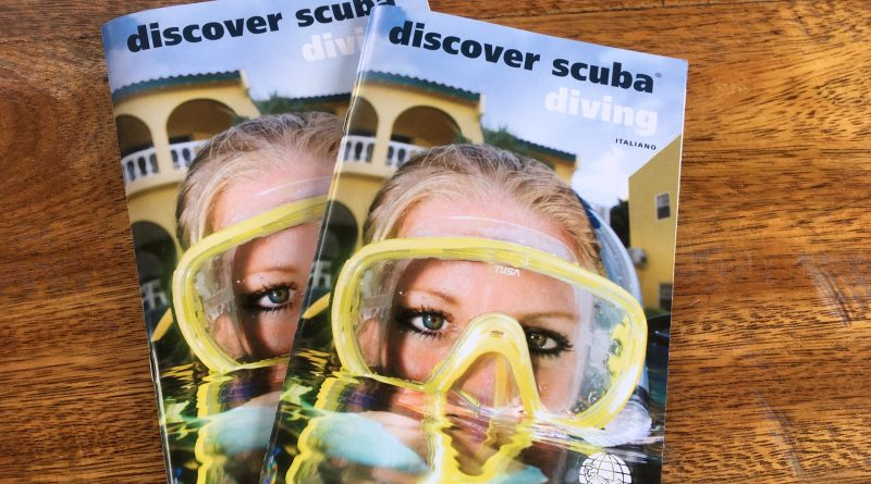 DSD (Discover Scuba Diving)….a great way to try diving for the first time!
