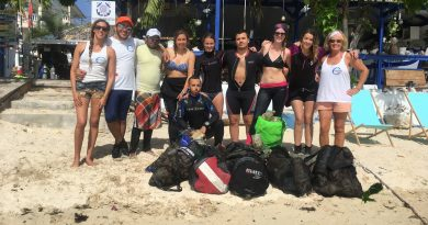 Helping to Keep Our Oceans Clean…Coral Point Ocean Clean-up Day!